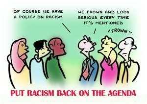 Racism on the agenda