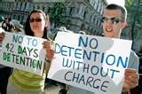 No detention without charge