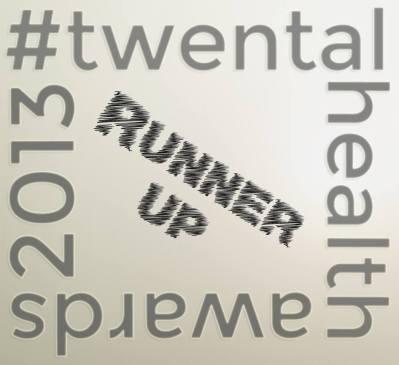 twental health 2013 runner up